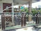 Stainless Steel Sliding Gate with Aluminium Wood & Glass Stainless Steel Sliding Gate with Aluminium Wood With Glass Stainless Steel Gate