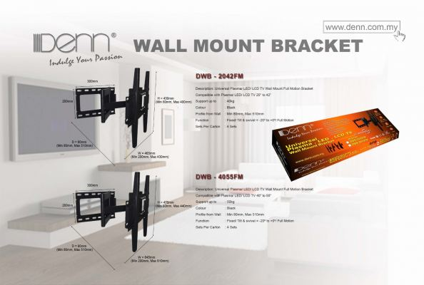 LCD  Plasma TV Wall Mount Brackets