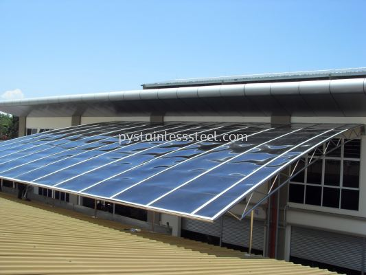 Stainless Steel with PC Naehoo Sheet Canopy