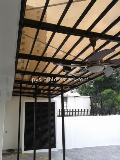 Mlid Steel with PC Naehoo Sheet Canopy