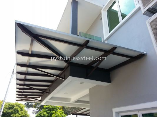 Mild Steel with Alumebond Canopy