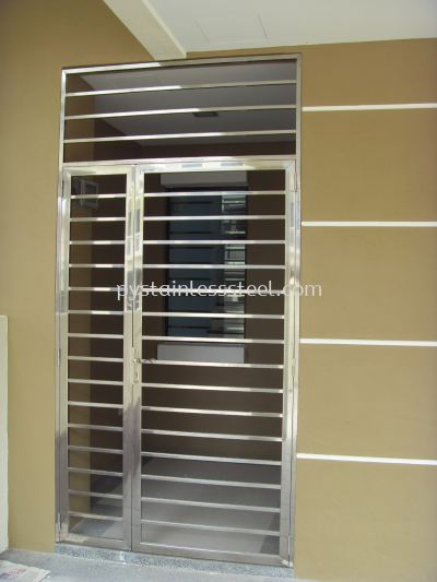 Stainless Steel Swing Door