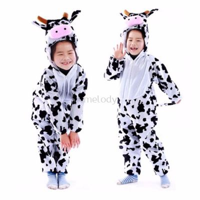 Kids milk cow jumpsuit / pyjamas