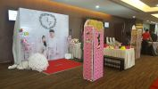 Backdrop Tema Bergambar Photobooth