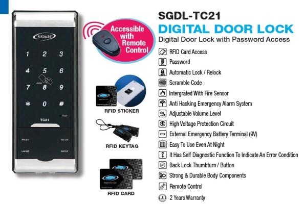 TC21 Smart Lock
