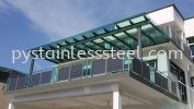 I-Beam with Glass Canopy I-Beam with Glass Canopy Stainless Steel Canopy