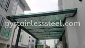 MS Hollow with Glass Canopy MS Hollow with Glass Canopy Stainless Steel Canopy