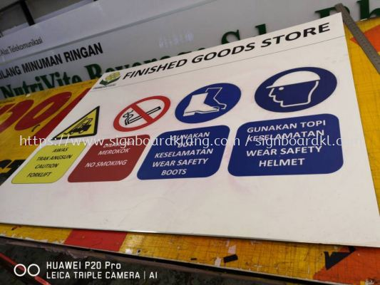 ACP Safety Signage at klang