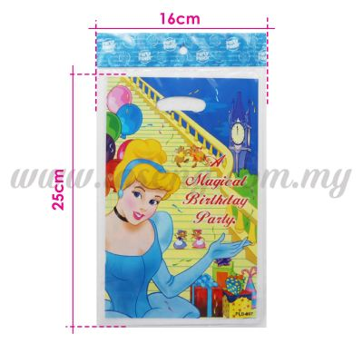Cinderella Party Loot Bag 1pack *10pcs (P-PLB-007)