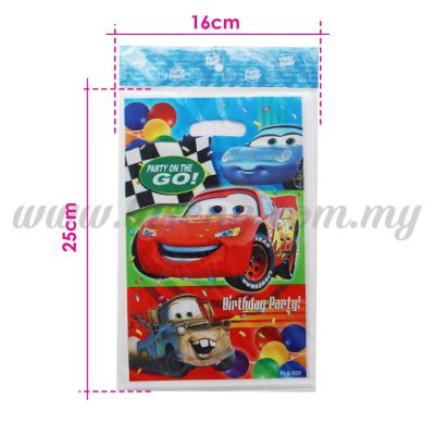 Cars Party Loot Bag 1pack *10pcs (P-PLB-009)
