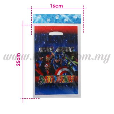 Avengers Party Loot Bag 1pack *10pcs (P-PLB-1834)