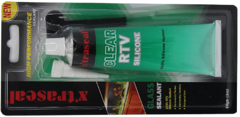 X TRASEAL  GLASS SEALANT - CLEAR - 00453B