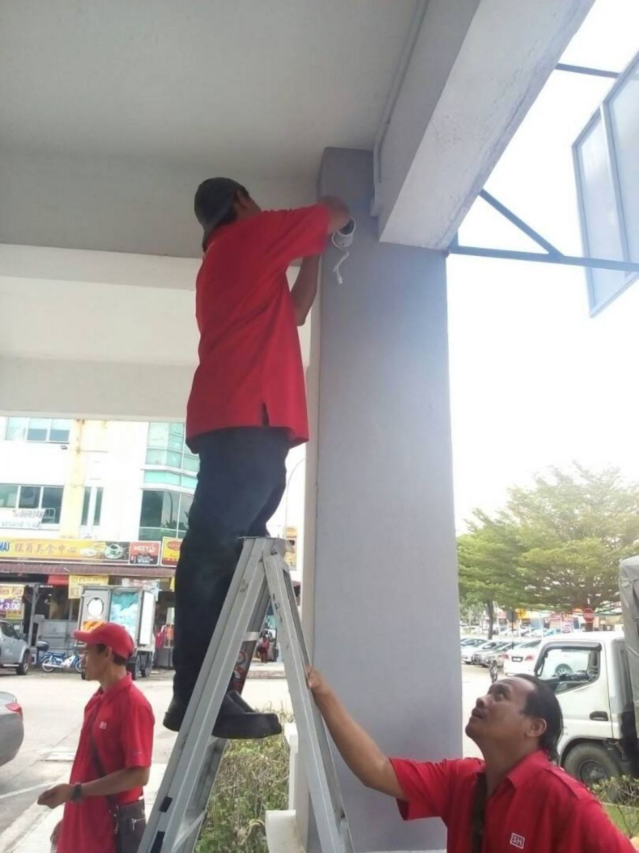 WIRING WORK (CCTV, IPPABX, ALARM, PAGING, NETWORK, ELECTRICAL & ETC ...