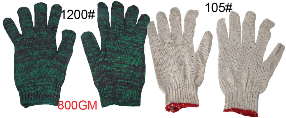 COTTON HAND GLOVES - 00078B