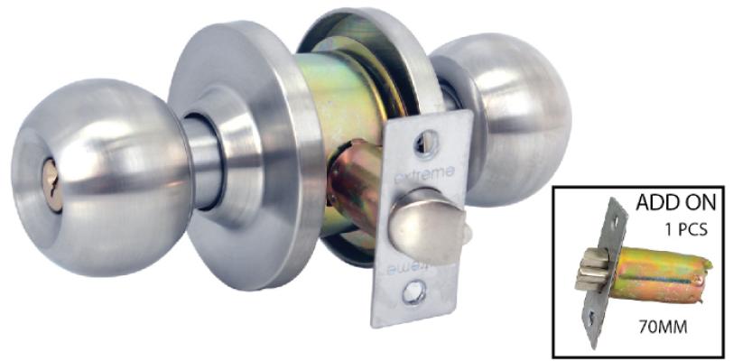 EX  CYLINDRICAL LOCK B587-SS - 00594J