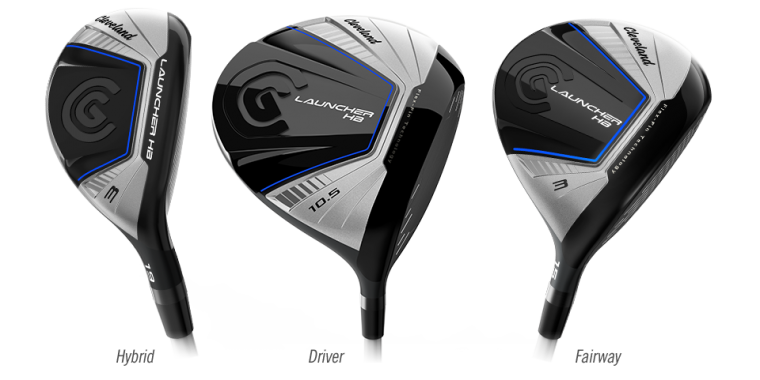 Launch it with Cleveland Launcher HB Woods & Iron Set ! Get it today from the No 1 Golf Retailer in