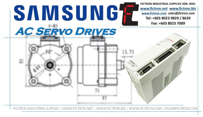 RC1-02BX1 RC1 02BX1 RC102BX1 SAMSUNG AC Servo Drive Supply & Repair by Fictron Industrial Supplies SDN BHD
