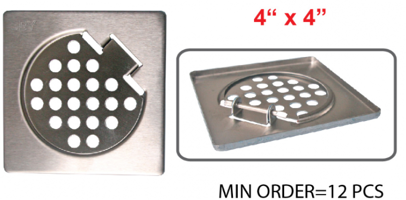 4 X 4 STEEL GRATING WITH BLATE [BLATE] - 00206H