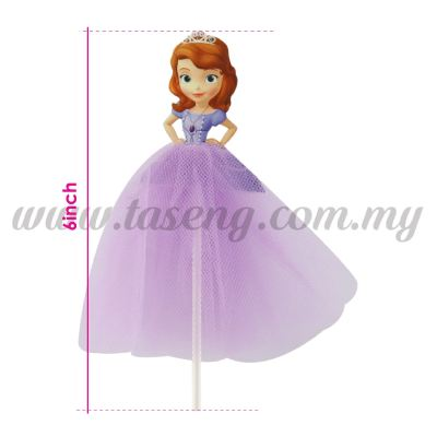 6inch Cake Topper *Sofia (CT-6CT-SO)