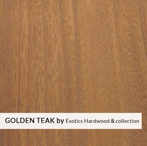Golden Teak Exotics Hardwood Collection Solid Hardwood Flooring