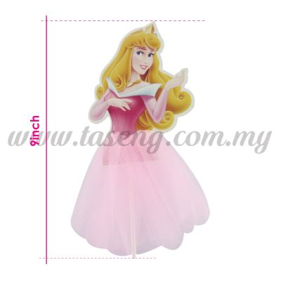 9inch Cake Topper  *Sleeping Beauty Aurora (CT-9CT-AU)