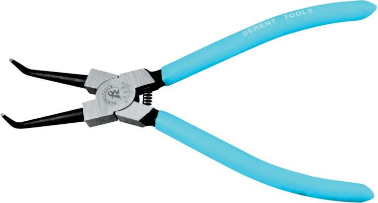 "INTERNAL 7"" CIRCLIP PLIER BENT NOSE - BT 1113"