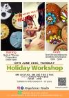 Raya Holiday program Arts and Crafts