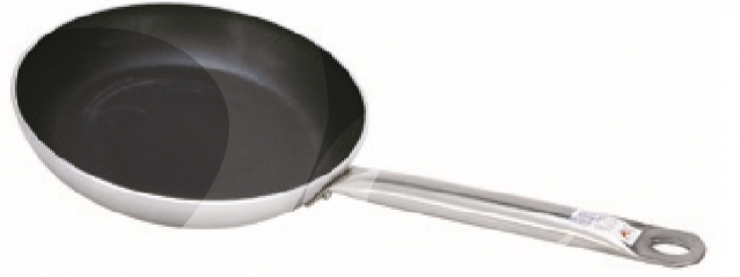Steel Handle Non-Stick Pan (039026-039035)