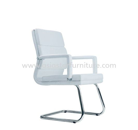 KENT VISITOR CHAIR WITH CHROME TRIMMING LINE ACL 7033