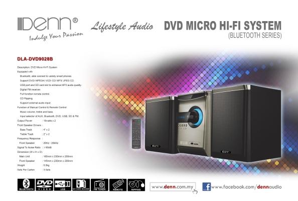 DVD Micro Hi-Fi System