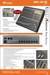Mixer Mixer Professional Audio (PA) System - XTREME PRO Series