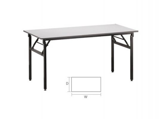 63061-4'X2' BANQUET TABLE(FOLD)