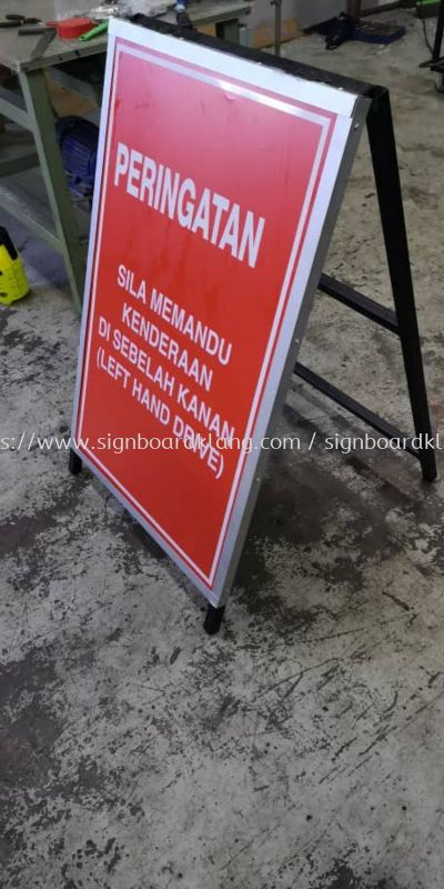 Safety Signage at klang