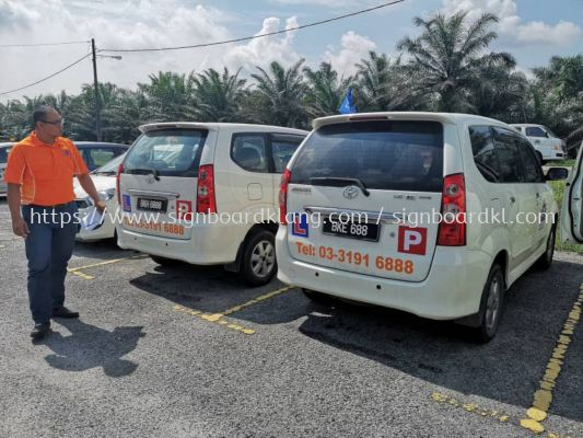 Excellence Vehicle Car and Van sticker at teluk paklima klang