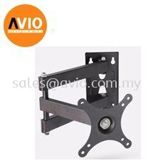 "LS103E TV Monitor Wall Mount Arm Bracket LED 10"" - 26"" 10 18 19 22 24 26 inch"