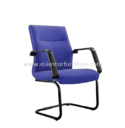 SEDAN VISITOR CHAIR WITH EPOXY BLACK CANTILEVER BASE ASD 183F