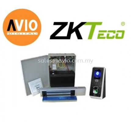 ZK Software MultiBio800 Package Face Recognition Door Access with Backup Battery