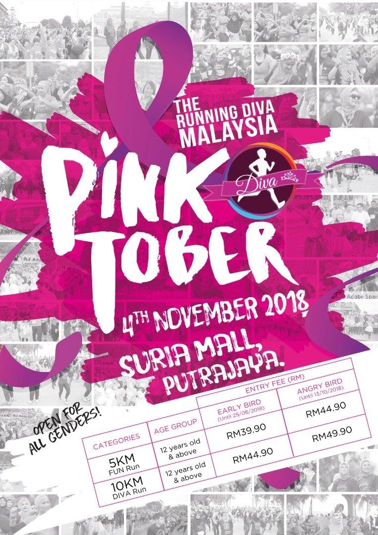 The Running Diva Malaysia - Pinktober November 2018