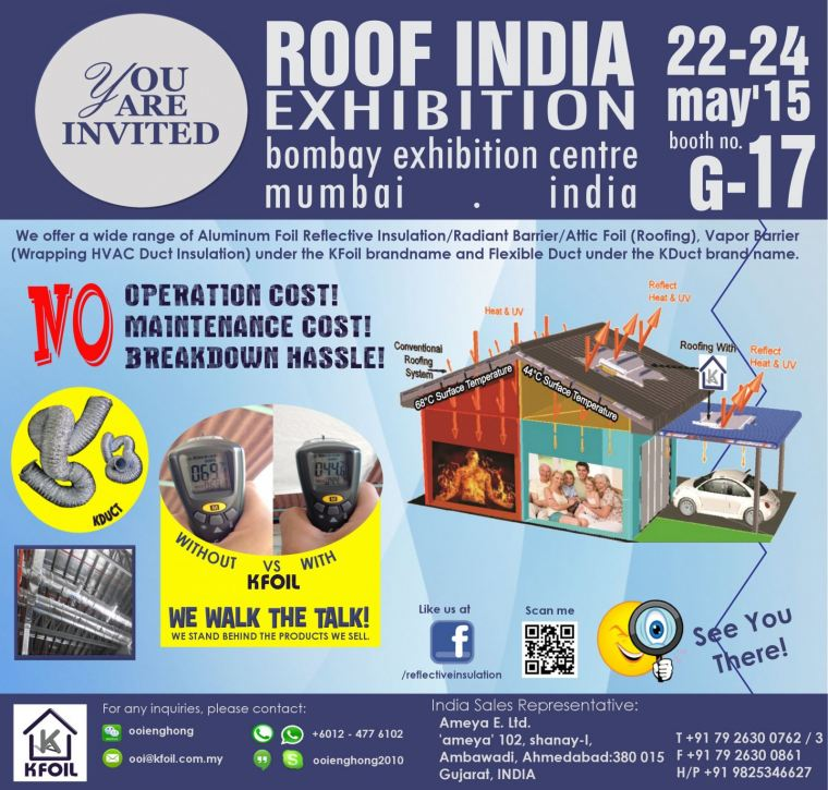 Roof India Exhibition 2015