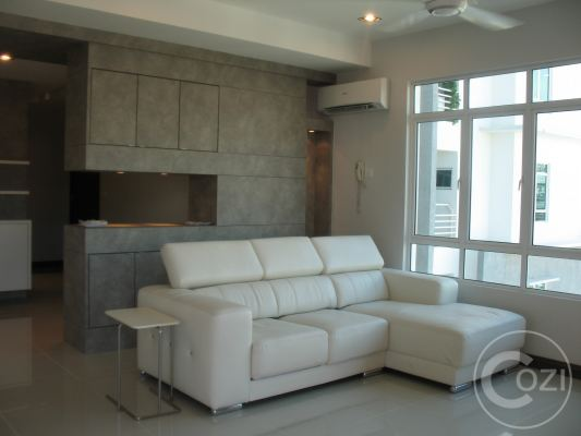 Living Hall for Condo at Penang