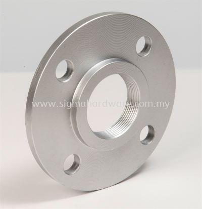Hot Dip Galvanized Flange With BSP Thread