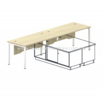 SWT 127-2 STANDARD TABLE (WITH WOODEN FRONT PANEL)