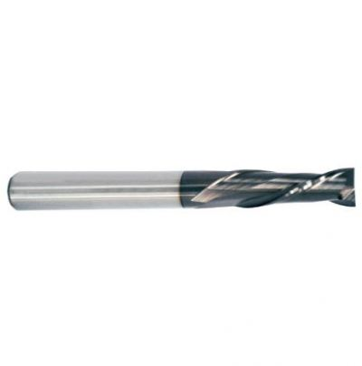 Carbide Co12% 2-Flute End Mill-TiALN Coated