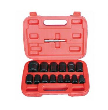 "15Pc 1/2"" Dr. Twist Socket Set"