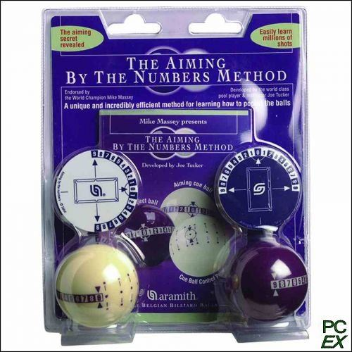 AIMING BY THE NUMBER METHOD BALL SET