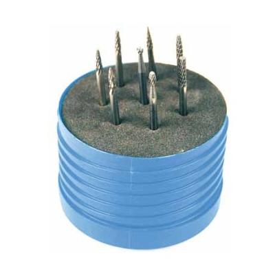 8Pc Carbide Burr Set For Moulding Repair(3mm Shank, Double Cut )