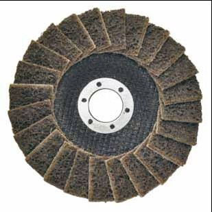 Surface Conditioning Flap Disc For Stainless Steel