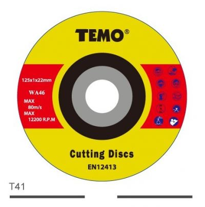 Reinforced Resin Cutting Disc For Stainless Steel-T41