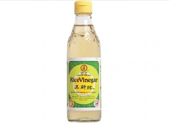 KONG YEN RICE VINEGAR 600ml