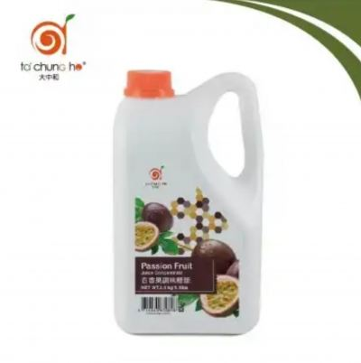 PASSION FRUIT CON. SYRUP 2.5kg
